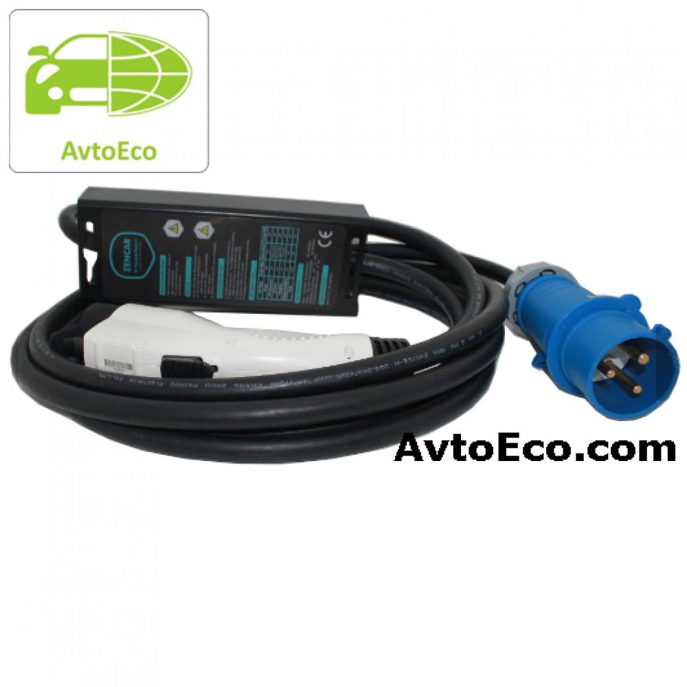 Купить Зарядное устройство Zencar J1772 Nissan Leaf, Volt, Ford Focus, BMW i3 и др (Фото №5)