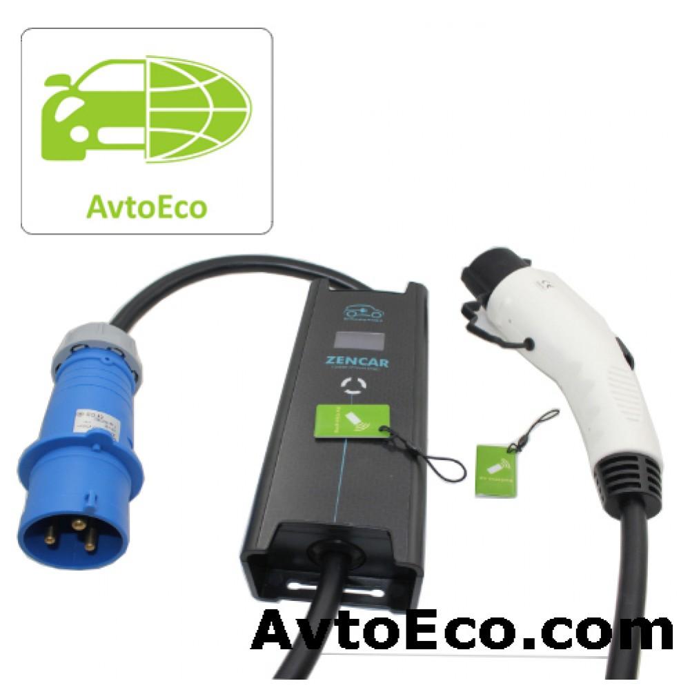Купить Зарядное устройство Zencar J1772 Nissan Leaf, Volt, Ford Focus, BMW i3 и др (Фото №4)