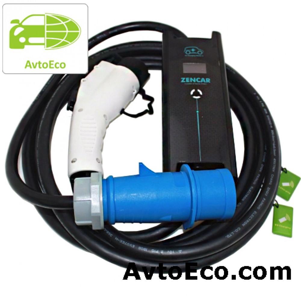 Купить Зарядное устройство Zencar J1772 Nissan Leaf, Volt, Ford Focus, BMW i3 и др (Фото №2)