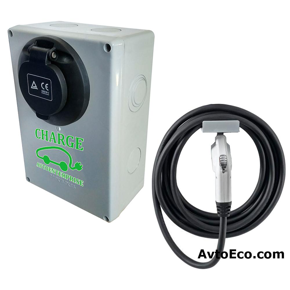 Купить Зарядная станция для электромобиля AvtoEco Econom 10 кВт (Фото №2)