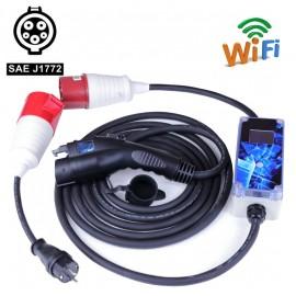 Зарядное устройство AvtoEco PZU-J1772 Box 220V 32A-Wi-Fi (1-фазная)