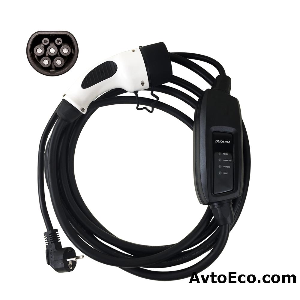 Зарядное устройство Duosida|Dostar Type 2 для электромобиля (Превью №1)
