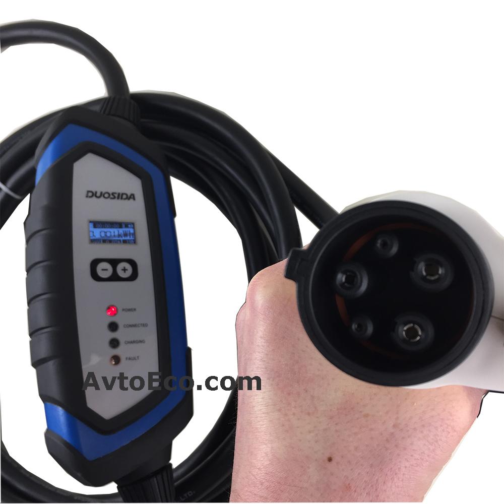 Купить Зарядное устройство для электромобиля Duosida J1772 32A (Фото №5)