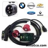 Зарядное устройство AvtoEco PZU-J1772 Box 220V 32A (1-фазная) Америка